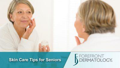 Skin Care Tips for Seniors