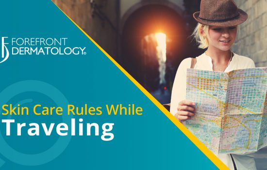 Skin Care Rules While Traveling